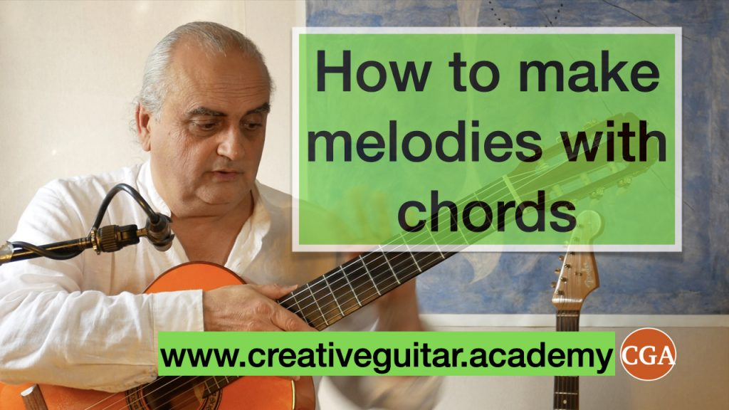 how to create melodies with chords